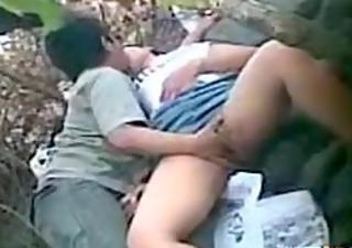 drunk oriental gal gets fingered