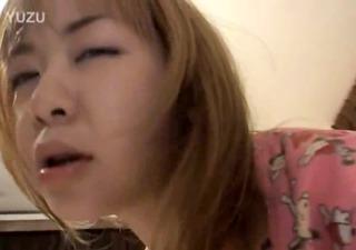 miniature fairhair asian gal fucking