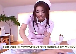 risa kasumi from idol31 asian nurse does