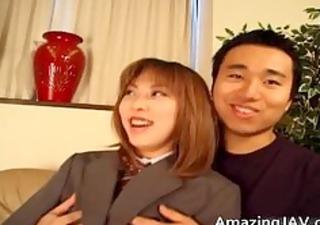 cute oriental schoolgirl engulfing part7